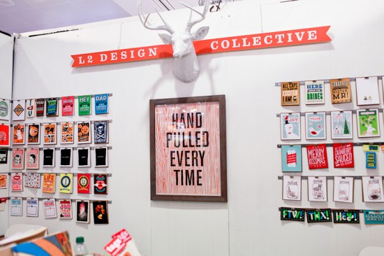 National Stationery Show 2013 Oh So Beautiful Paper L2 Design Collective 9 550x366 National Stationery Show 2013, Part 11