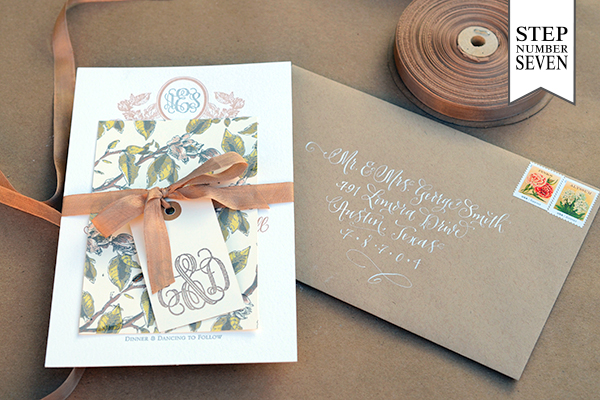 Savannah 71 DIY Tutorial: Savannah Inspired Floral Wedding Invitations