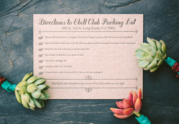Teal Chipboard Chevron Stripe Letterpress Wedding Invitations Metal Doily Press7 Monique + Karls Teal and Chipboard Letterpress Wedding Invitations