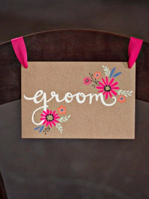 Whimsical DIY Floral Wedding Invitations4 300x399 Melissa + Grahams Whimsical Hand Painted Wedding Invitations