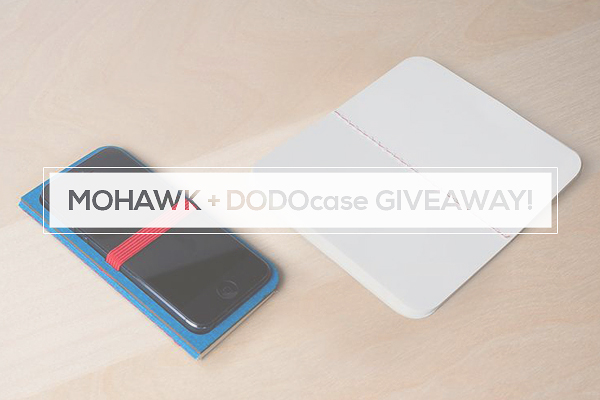 Mohawk DODOnotes Giveaway New Giveaway! Notes by DODOcase + Mohawk!