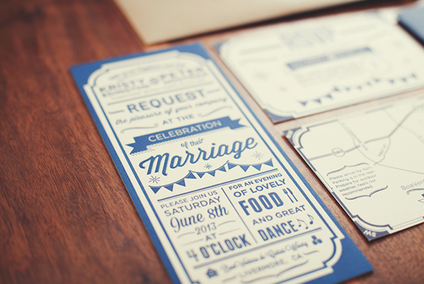 Rustic Barn Letterpress Wedding Invitations Peter Hootman6 Peter + Kristys Rustic Letterpress Wedding Invitations