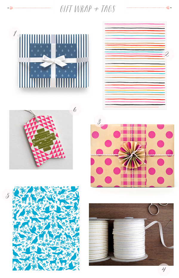 Stationery A Z Gift Wrap Round Up Stationery A Z: Bright + Colorful Gift Wrap