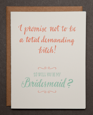 bridesmaid grande 300x369 Bid adieu to Ladyfingers Letterpress with a Stationery Giveaway!