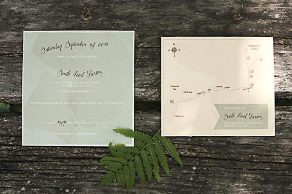 Nature Inspired Wedding Invitations Belinda Love Lee9 Jess + Sims Illustrated Nature Inspired Wedding Invitations