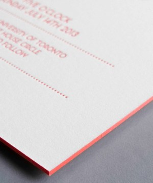 Ombre Letterpress Wedding Invitations Thomas Printers8b 300x360 Charles + Merrills Ombre Letterpress Wedding Invitations