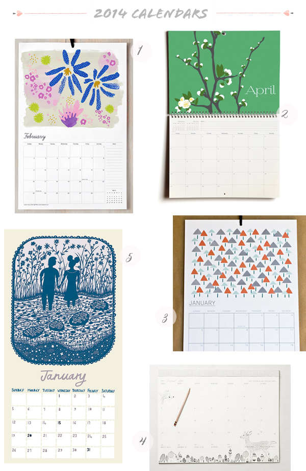 2014 Calendars Part3 Seasonal Stationery: 2014 Calendars, Part 3