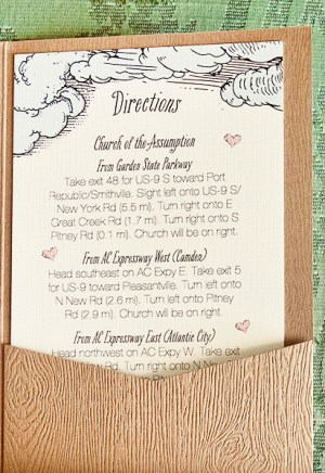 Woodland Fairy Tale Wedding Invitations Kake Stationery3 300x436 Krista + Joshs Whimsical Woodland Wedding Invitations