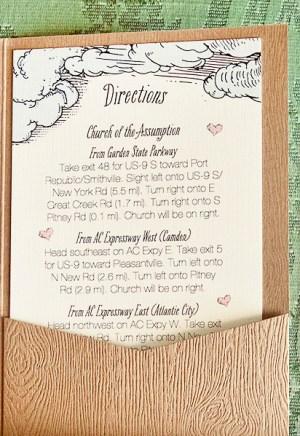 Woodland Fairy Tale Wedding Invitations Kake Stationery3 300x436 Krista + Joshs Whimsical Woodland Wedding Invitations