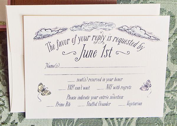 Woodland Fairy Tale Wedding Invitations Kake Stationery5 Krista + Joshs Whimsical Woodland Wedding Invitations