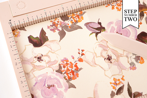 Journal Step2 DIY Tutorial: Handmade Patterned Notebooks