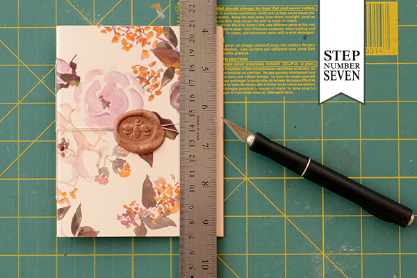 Journal Step8 1 DIY Tutorial: Handmade Patterned Notebooks