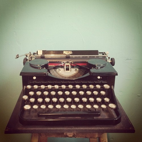 OSBPtypewriter Hello Brick & Mortar: Great Relationships Part I