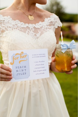 Signature Drink Sign Chips and Salsa Design Studio Jeremy Kristen Photography2 300x449 Wedding Stationery Inspiration: Signature Drink Signs