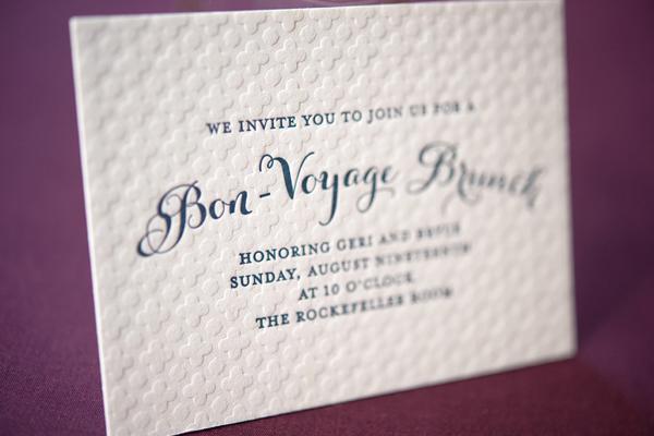 Elegant Gold Foil Wedding Invitations Gus Ruby Letterpress6 Geri + Bryces Elegant Gold Foil Wedding Invitations