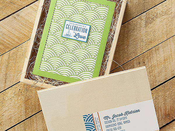 Wisconsin Lake Wedding Invitations Sugar River Stationers4 Courtney + Nates Wisconsin Lake Wedding Invitations