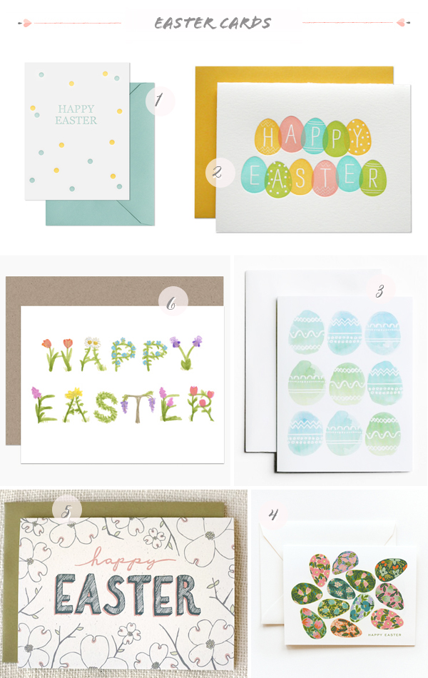 2014 Easter Cards Part1 Seasonal Stationery: Easter Cards