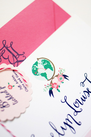 Evies Calligraphy Baby Announcements