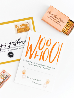 Preppy Palm Beach Wedding Invitations Coral Pheasant6 Preppy Palm Beach Wedding Stationery Inspiration
