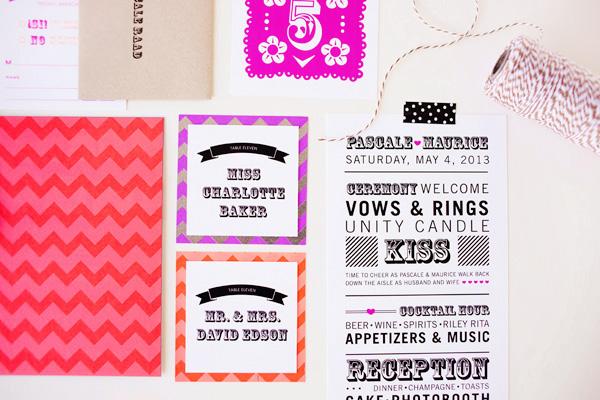 Cinco De Mayo Wedding Invitations idieh design8 Pascale + Maurices Colorful Cinco De Mayo Wedding Invitations
