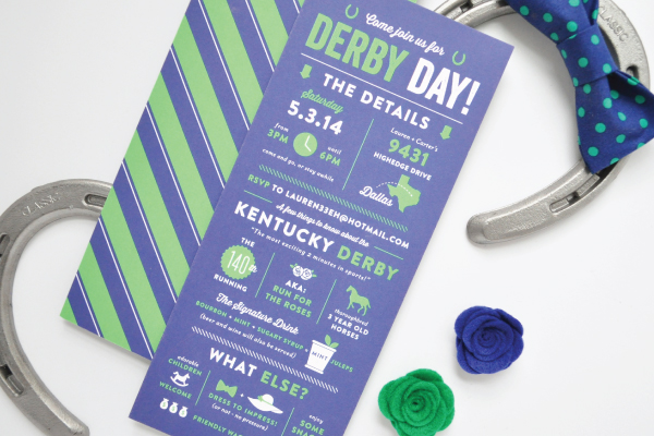 Kentucky Derby Day Invitations Lauren Chism Fine Papers2 Laurens Kentucky Derby Day Party Invitations