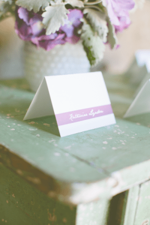 Pastel Escort Cards Charmed Events Group Gladys Jem Photography 300x450 Wedding Stationery Inspiration: Pastels