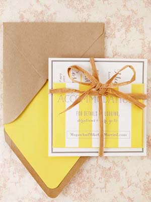Modern Yellow Wedding Invitations Sugar and Type OSBP3 Megan + Mikes Rustic Modern Yellow Wedding Invitations
