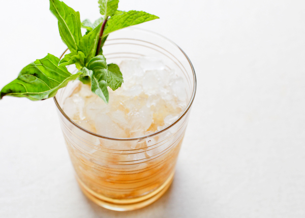 Signature Cocktail Recipe Basil Mint Julep OSBP 33 Friday Happy Hour: The Basil Mint Julep