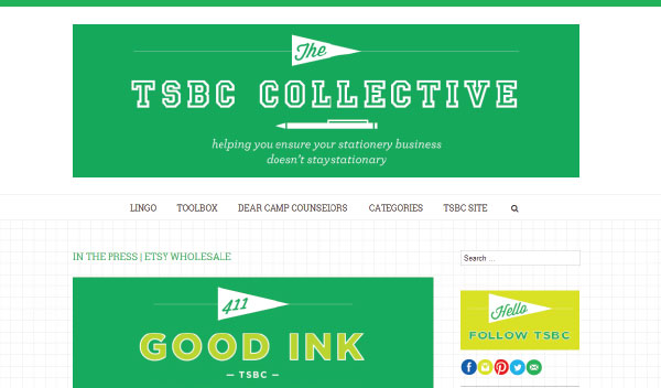 TSBC Collective Website NSS 2014: Tradeshow Bootcamp (+ New Website!)