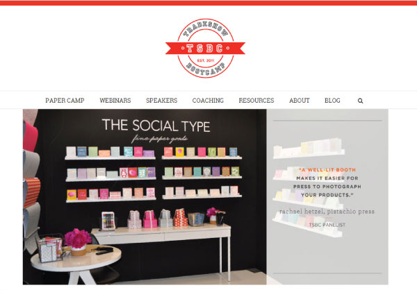 TSBC Website Homepage NSS 2014: Tradeshow Bootcamp (+ New Website!)