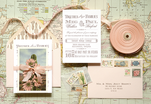 blush How to Add Your Personal Touch to DIY Wedding Invitations