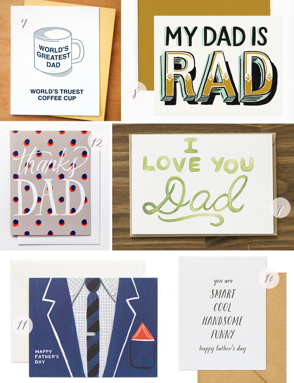 2014 Fathers Day Cards Part2 Seasonal Stationery: Fathers Day Cards, Part 1