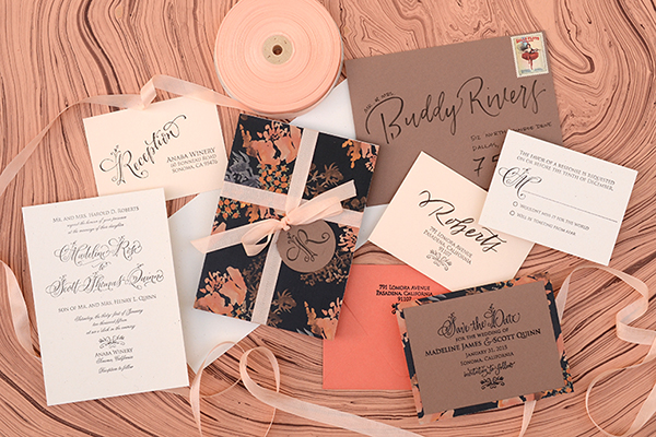 Autumn Floral DIY FInal DIY Tutorial: Autumn Floral Wedding Invitations