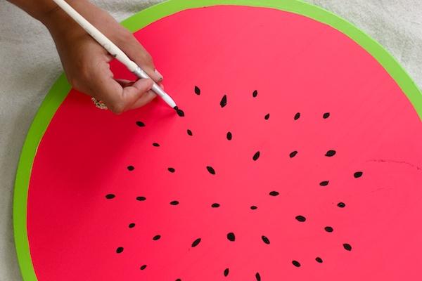 DIY Watermelon Serving Tray OSBP 4 DIY Tutorial: Watermelon Serving Tray