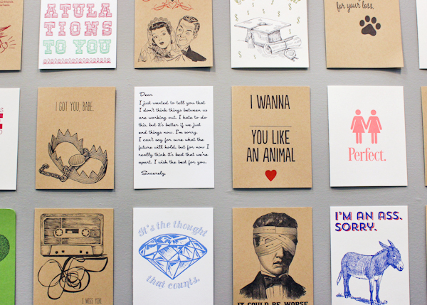 OSBP NSS 2014 Black Heart Letterpress 14 National Stationery Show 2014, Part 13