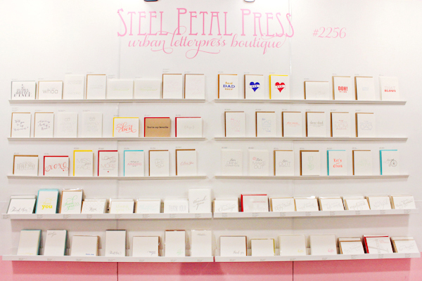 OSBP NSS 2014 Steel Petal Press 5 National Stationery Show 2014, Part 13