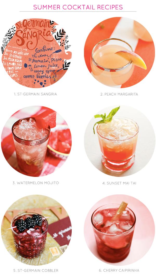 Summer Cocktail Recipes OSBP1 Summer Cocktail Recipes