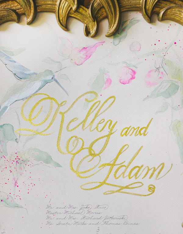 Biltmore Estate Wedding Invitation Inspiration Momental Designs OSBP7 Hand Painted Wedding Invitation Inspiration
