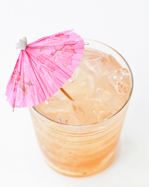 Modern Tiki Cocktail Party Inspiration OSBP Bacardi StGermain Mai Tai7 Summer Cocktail Series: Modern Tiki Party Cocktail Recipes