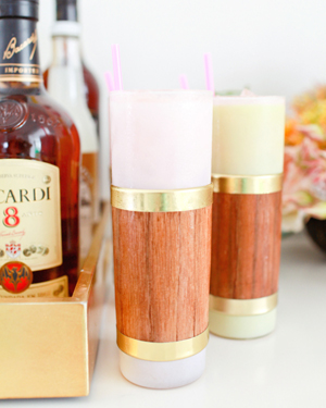 Modern Tiki Cocktail Party Inspiration OSBP Bacardi StGermain Shipwreck Rum Punch81 Summer Cocktail Series: Modern Tiki Party Inspiration