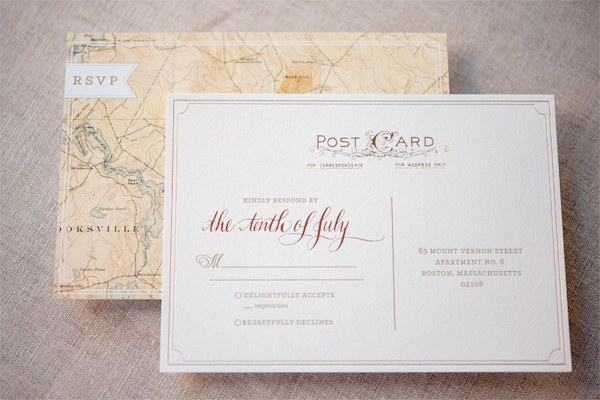 Romantic Rose Gold Wedding Invitations Gus and Ruby Letterpress10 Kate + Cleons Romantic Rose Gold Foil Wedding Invitations