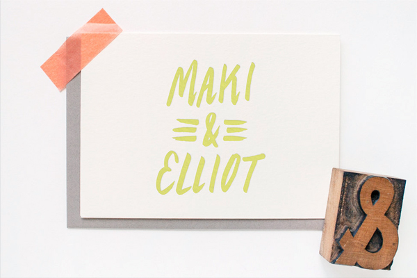 Personalized Letterpress Stationery Erin Wallace OSBP4 Quick Pick: Erin Wallace Letterpress Stationery