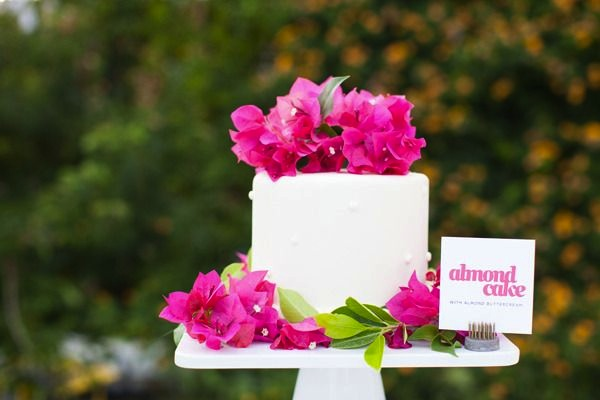 dessert signage Wedding Stationery Inspiration: Bougainvillea