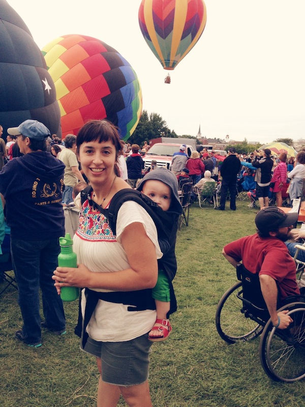 The Haystack Needle Balloon Festival Guest Post: Jen of The Haystack Needle