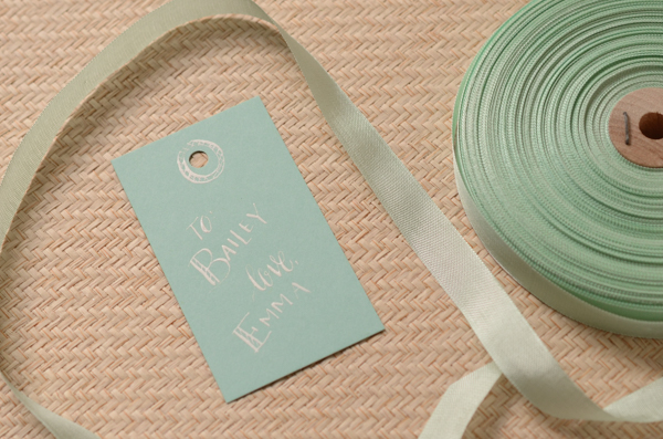 DSC 5341 1 DIY Tutorial: Calligraphy Gift Tags