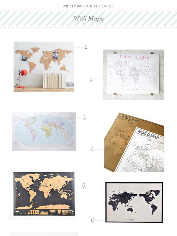 PrettyPaper Maps Pretty Paper in the Office: Maps