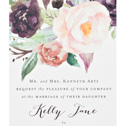 Small Crop Of Watercolor Wedding Invitations