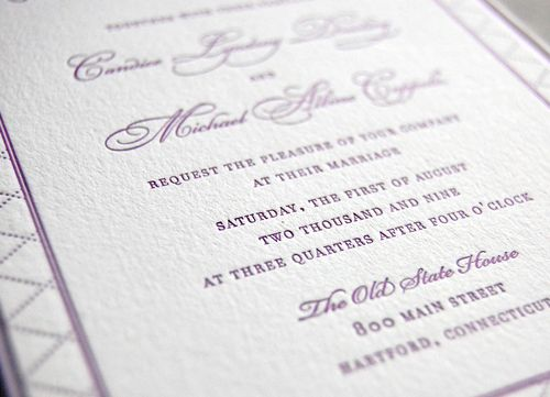 6a00e554ee8a228833011570700d13970c 500wi Purple + Gold Wedding Invitations