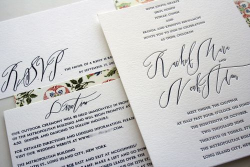 6a00e554ee8a2288330120a551df79970b 500wi Rae + Noahs Classic Wedding Invitations with Modern Calligraphy
