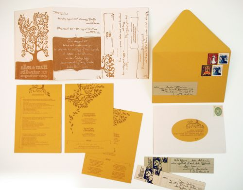 6a00e554ee8a2288330120a5c88b71970b 500wi Alisa + Matts Rustic DIY Wedding Invitations